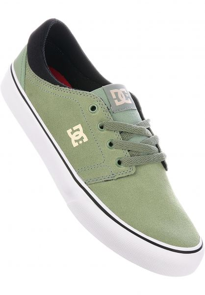 b278f68f572 Trase S Dc Shoes All In Olive For Men Titus