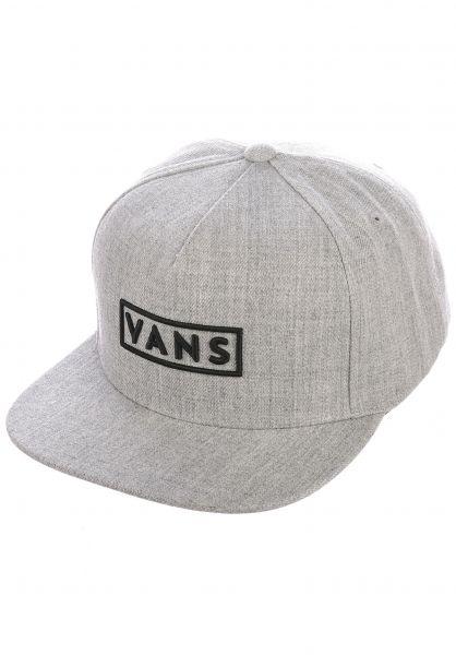 Vans Caps Easy Box heathergrey vorderansicht 0566621