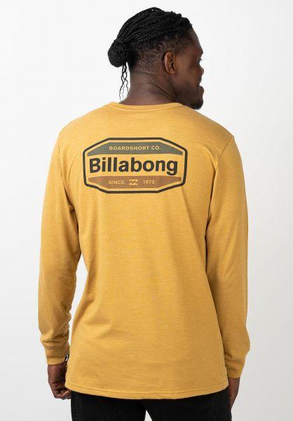 Billabong Hemden langarm Gold Coast gold vorderansicht 0412004