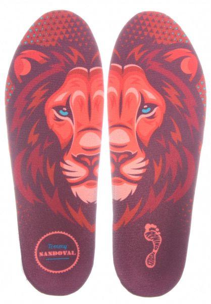 Remind Insoles Einlegesohlen Tommy Destin Lion red vorderansicht 0249163
