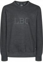 Light-Sweatshirts-und-Pullover-Afterhour-LBC-darkgreyheather-Vorderansicht