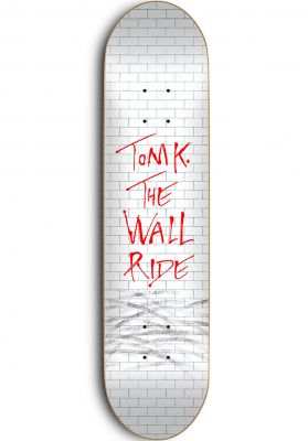Skate-Mental Tom K. The Wall Ride