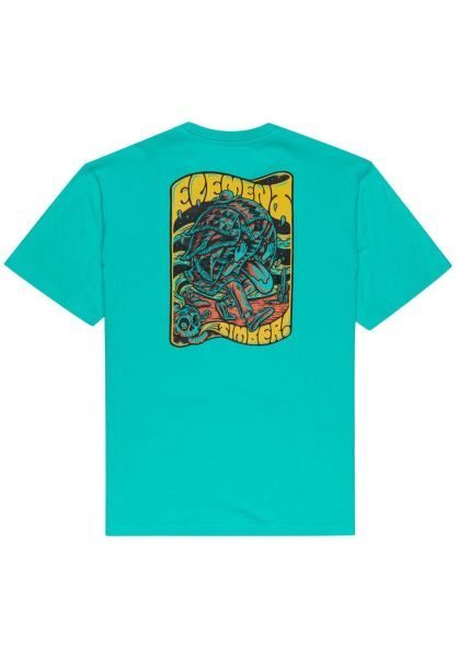 Element T-Shirts x Tmber Nomadic atlantis vorderansicht 0323339