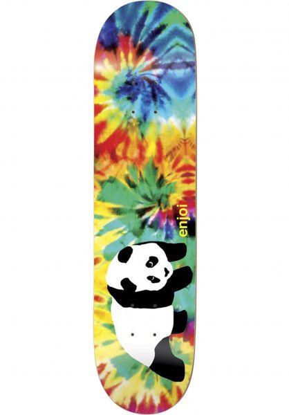 Enjoi Skateboard Decks Panda Tie-Dye V2 R7 multicolored vorderansicht 0115111