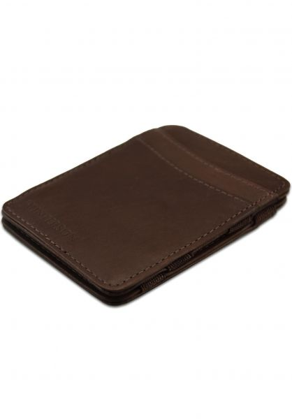 Hunterson Portemonnaie Magic Wallet RFID brown vorderansicht 0781046