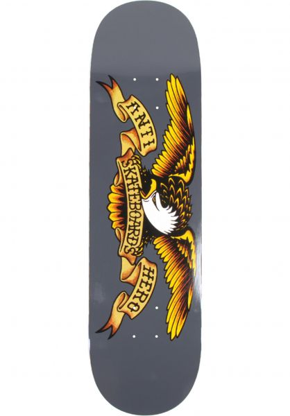 Anti-Hero Skateboard Decks Classic Eagle grey vorderansicht 0118797