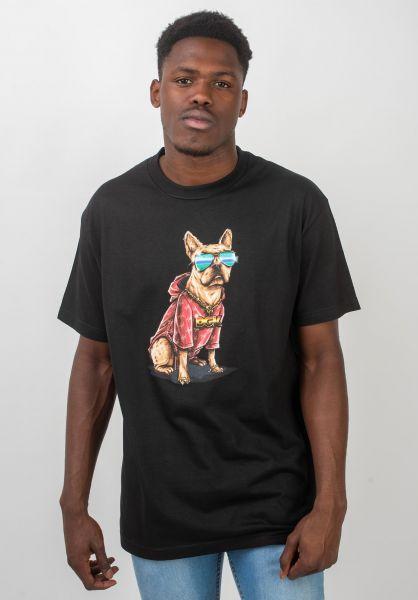 DGK T-Shirts Frenchie black vorderansicht 0320506
