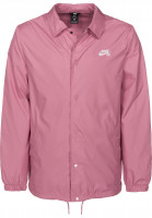 Nike SB Übergangsjacken Shield Jacket Coaches elementalpink-white Vorderansicht