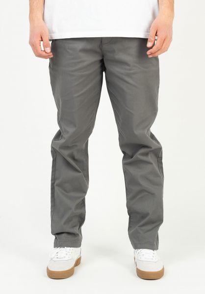 Element Chinos und Stoffhosen Sawyer pewter vorderansicht 0204043