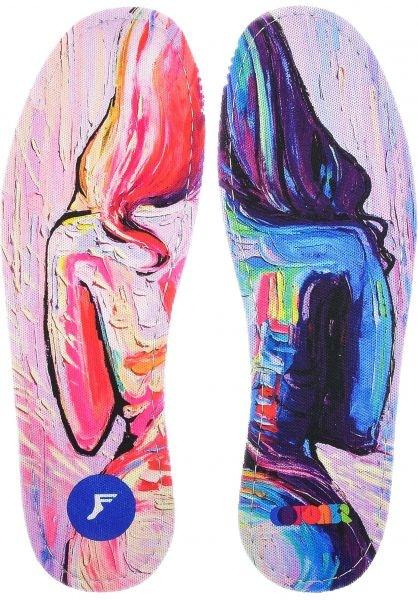 Footprint Insoles Einlegesohlen x Colours Collective Hoefler King Foam Flat multicolored vorderansicht 0249123