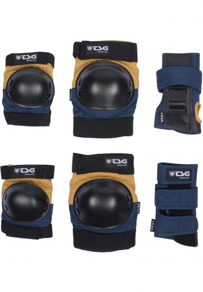 TSG Schoner-Sets Junior nightblue-duskyellow vorderansicht 0076009
