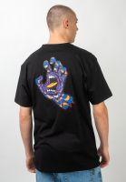 santa-cruz-t-shirts-kaleido-hand-black-vorderansicht-0320991