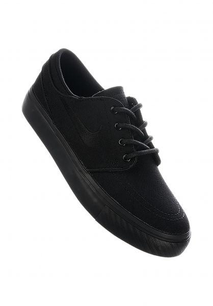 Nike SB Alle Schuhe Zoom Stefan Janoski GS black-black-anthracite vorderansicht 0216025