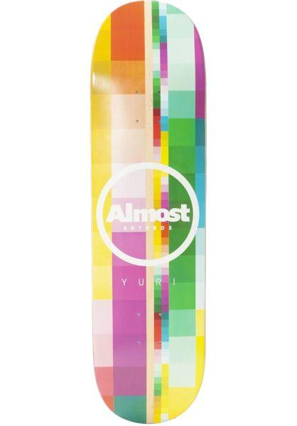 Almost Skateboard Decks Yuri Rasterized Impact Light multicolored vorderansicht 0263212