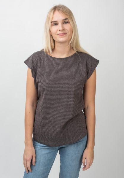 Forvert T-Shirts Kesilir greymelange-plum vorderansicht 0398619