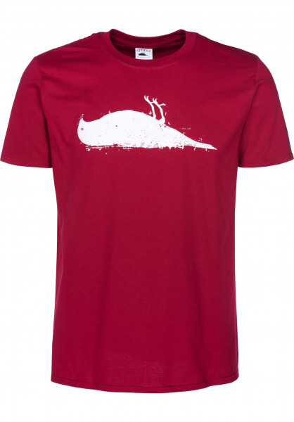 Atticus T-Shirts Bird cardinalred Vorderansicht