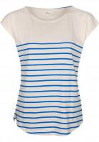 Forvert-T-Shirts-Newport-beige-blue-Vorderansicht