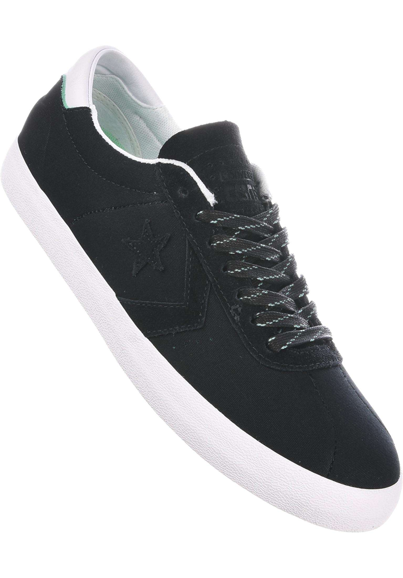 0e388d91b01 Breakpoint Pro Ox Converse CONS All Shoes in black-white-green for Men