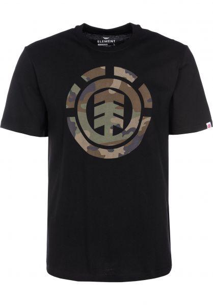 Element T-Shirts Foundation Icon flintblack vorderansicht 0399838