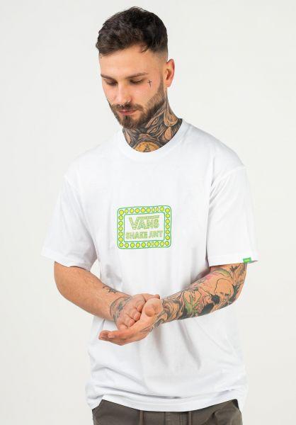 Vans T-Shirts x Shake Junt Logo white vorderansicht 0321821