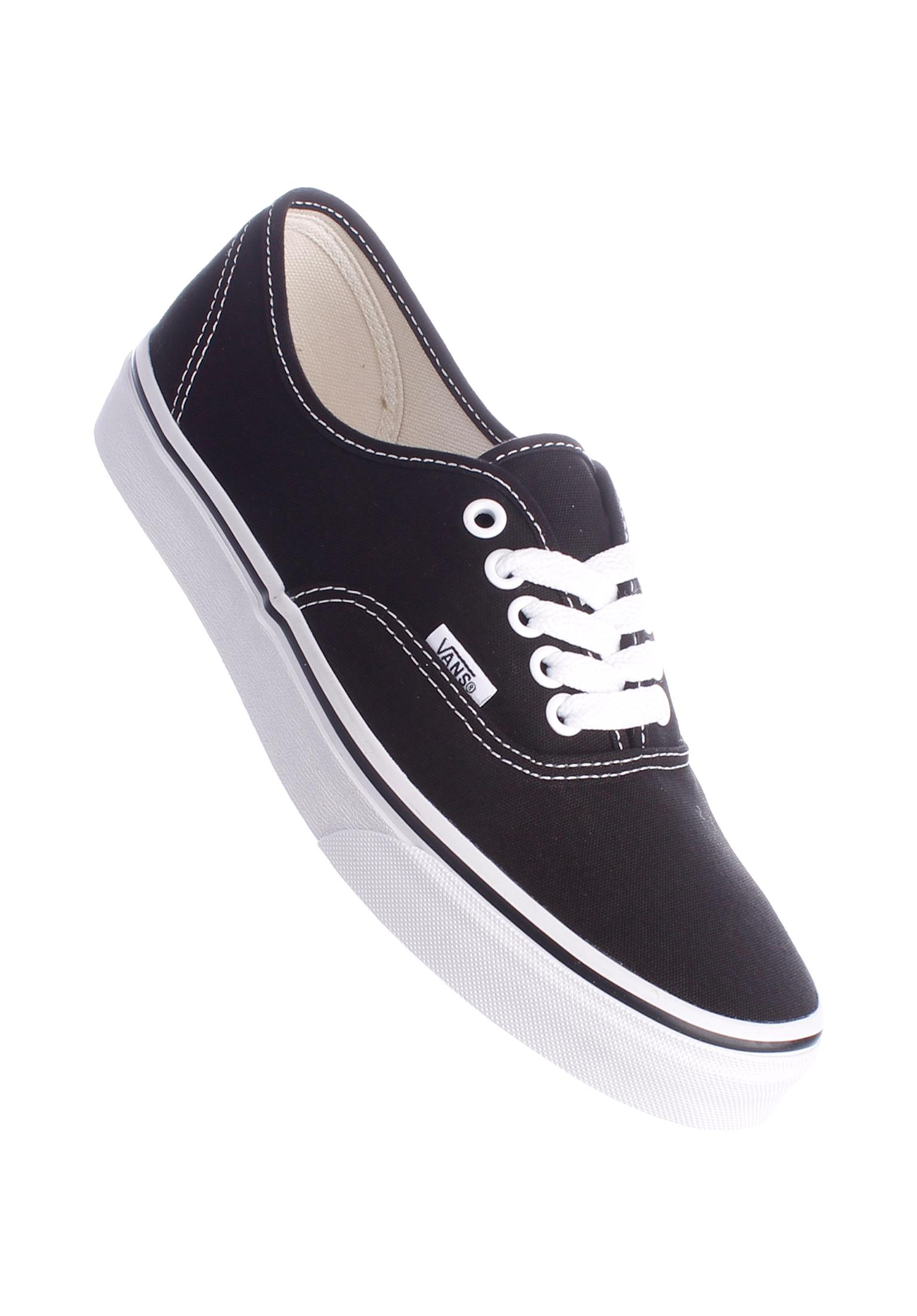 Authentic Classic Vans All Shoes in black-white for Women  8e9244b65