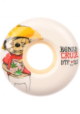 Bones Wheels STF Cruz Weedy 83B V2