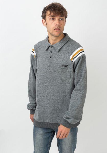 Volcom Polo-Shirts CJ Collins coolblue vorderansicht 0138419