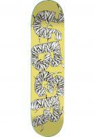 ÿBER Skateboard Decks Laces yellow Vorderansicht