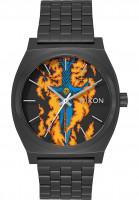 Nixon Uhren Time Teller x Bones Brigade black-guerrero Vorderansicht