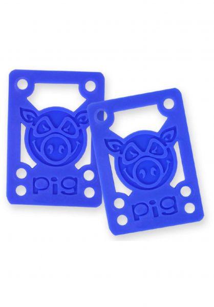 Pig 1/8-Soft-Riser blue Vorderansicht