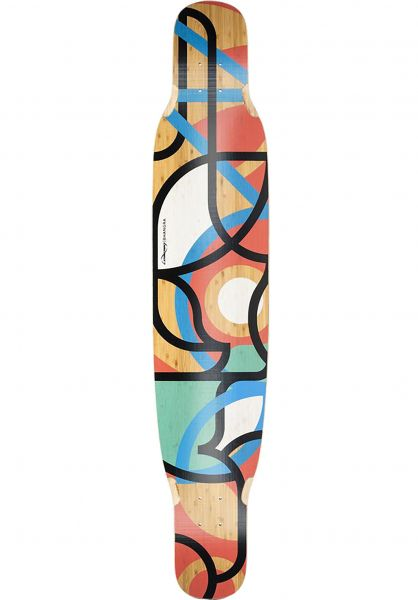 Loaded Longboard Decks Bhangra V2 Flex 2 multicolored vorderansicht 0253227