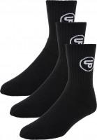 TITUS Socken Classic Icon 3er Pack black Vorderansicht