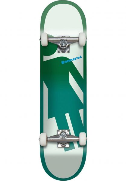 Girl Skateboard komplett Bannerot Tilt A Girl white-petrol vorderansicht 0162162