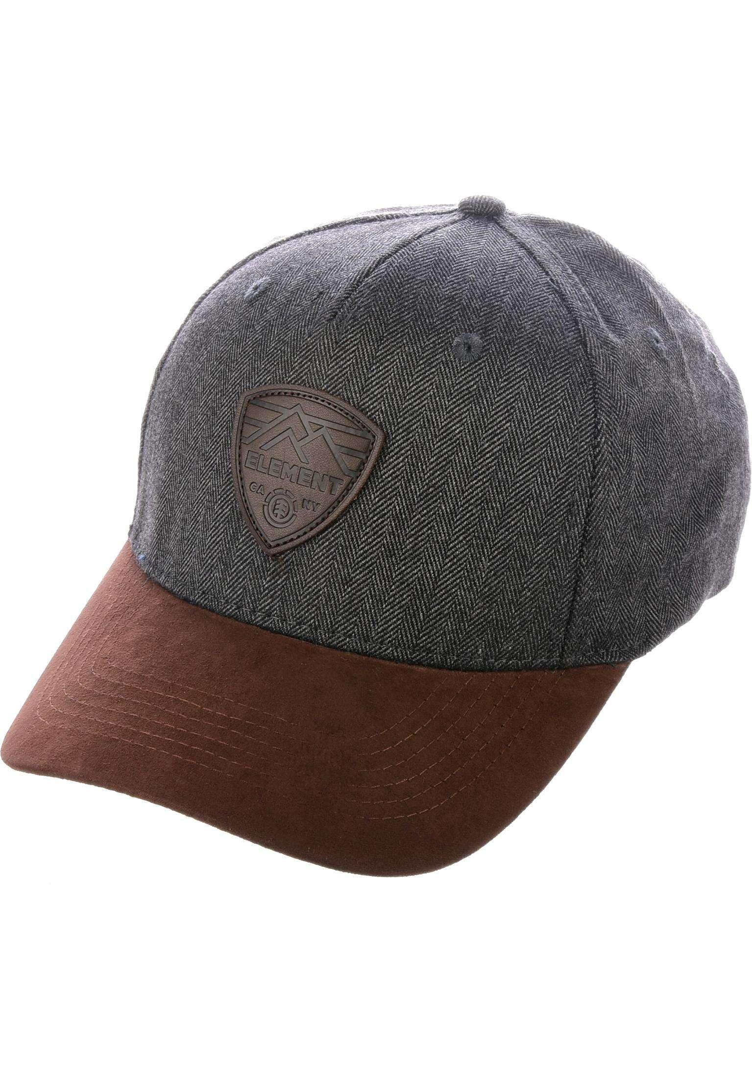 360c28228e3 Camp III Element Caps in offblack for Men