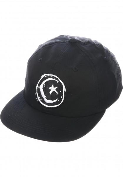 Foundation Caps Star and Moon Unstructured black Vorderansicht