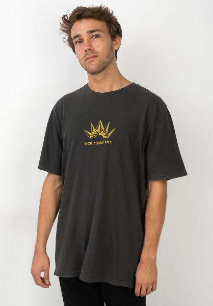 Volcom T-Shirts Stone Break black vorderansicht 0320382