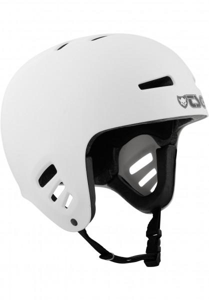TSG Helme Dawn Solid Color white Vorderansicht