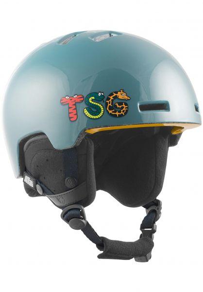 TSG Snowboardhelme Arctic Nipper Mini Graphic Design lettimals blue vorderansicht 0223011