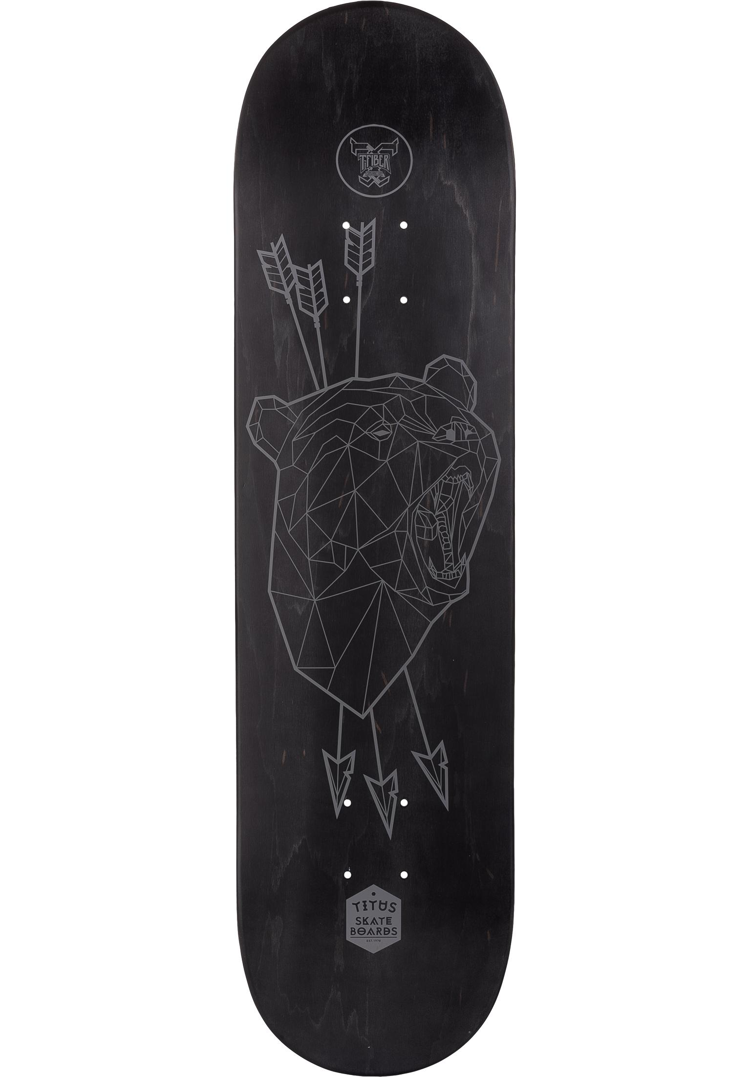cb8ccde18d9b Polygon Bear T-Fiber TITUS Skateboard Decks in black