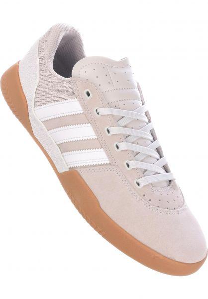 huge discount 7e73f 06d00 adidas-skateboarding Alle Schuhe City Cup white-pearl-gum vorderansicht  0604338