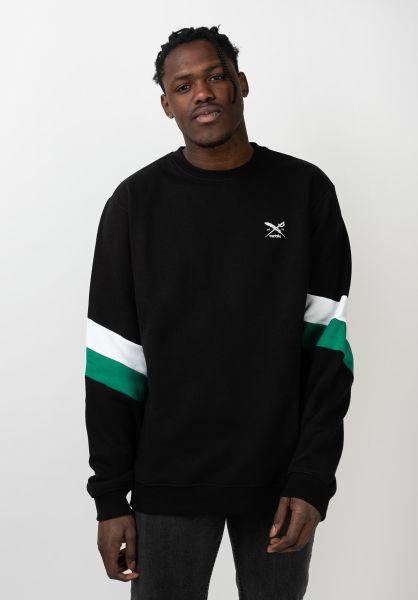 iriedaily Sweatshirts und Pullover Prime Crew black vorderansicht 0422658