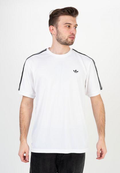 adidas-skateboarding T-Shirts Club Jersey white-black vorderansicht 0399746