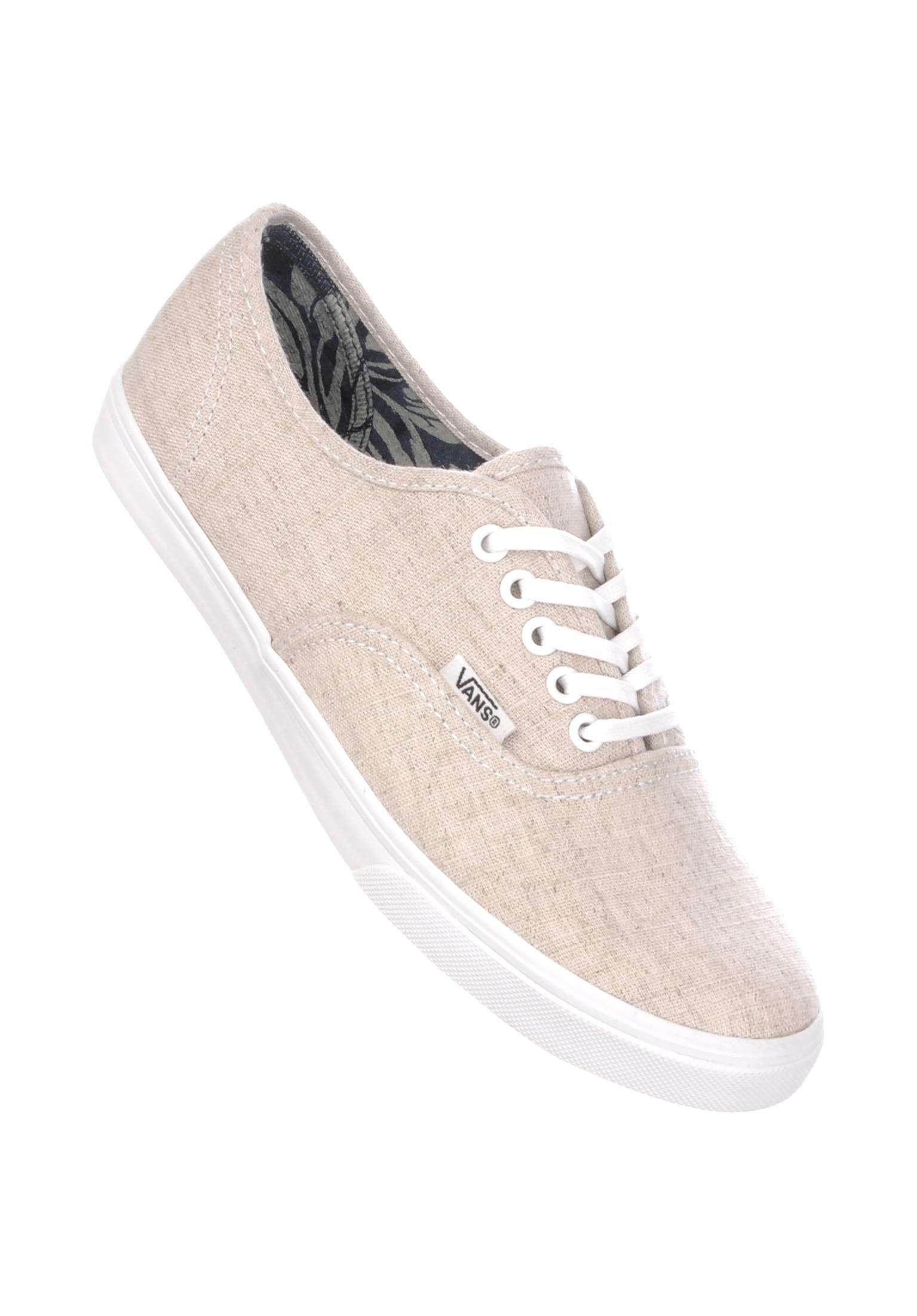 cc9160ab42c Authentic Lo Pro Classic Vans All Shoes in natural-truewhite for Women