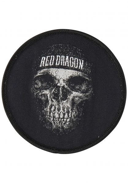 Red-Dragon Verschiedenes Dead Head Patch black Vorderansicht