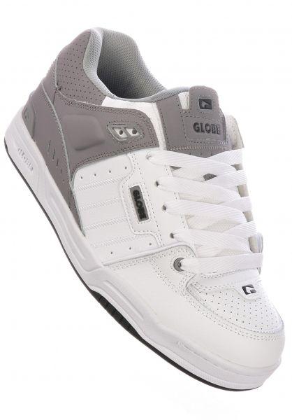 Globe Alle Schuhe Fusion white-greysplit vorderansicht 0604105