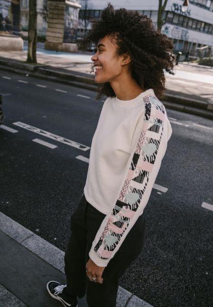 TITUS Sweatshirts und Pullover Layla offwhite seitenansicht 0445312