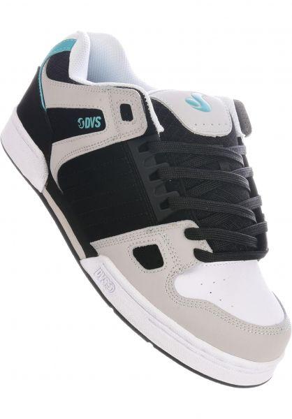 DVS Alle Schuhe Celsius black-charcoal-white vorderansicht 0603780