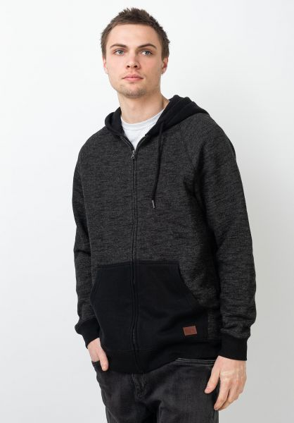 Billabong Zip-Hoodies Balance black vorderansicht 0454677