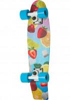 Aluminati Skateboards Cruiser komplett Goby lemonati Vorderansicht