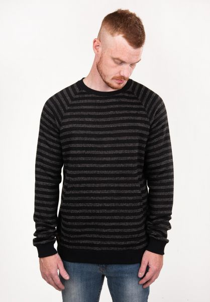 TITUS Strickpullover Sasha grey-striped vorderansicht 0141909